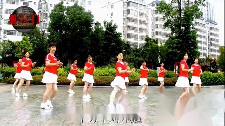 2020龙川思念姐妹广场舞姐妹演示:千万个对不起DJ.