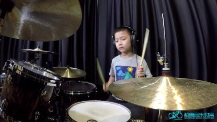 深圳鼓唐八岁小鼓手林玮桐《Kaiser Roll》鼓唐音乐教育连锁