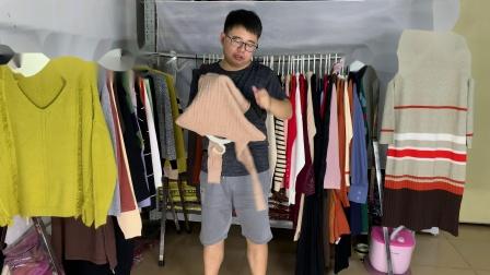 梵莱尼2020中秋国庆女装毛衣尾货款式展示