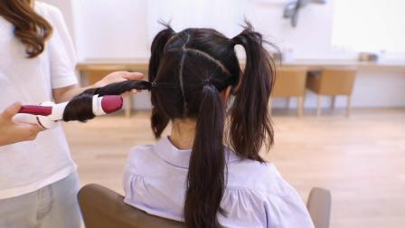 自己在家用卷棒也能做出超美的卷发造型