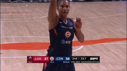 【WNBA】2020季后赛半决赛G4 拉斯维加斯王牌vs康涅狄格太阳 9.27