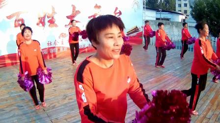 广场舞《中国大舞台》表演:临淄区稷下街道耿王舞蹈队 淄博飞歌影视传媒