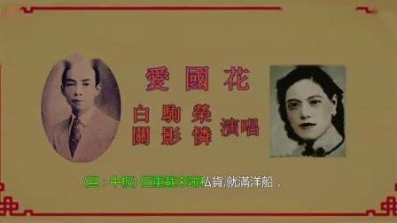 白駒榮 關影憐-愛國花
