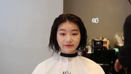 短发要这么剪才美!