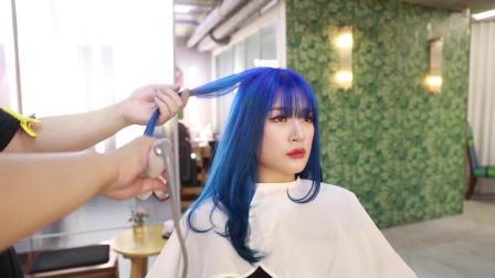 发量多的女生适合的发型,剪了美翻天2