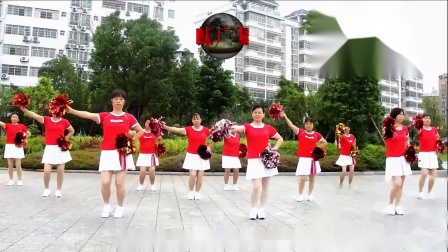 2020龙川思念广场舞姐妹演示:中国梦
