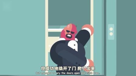 自电梯发明后,密闭空间恐惧者数量飙升?被困电梯3天的真实案例[神迹字幕组]