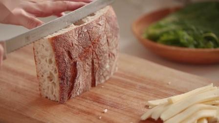 餐厅式经典三明治的四种做法 早晨赶时间也能吃上精致营养餐[神迹字幕组]