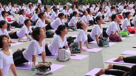 宿州市第二届千人瑜伽20201002