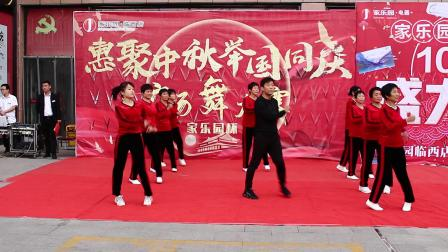 杨集舞蹈队表演。许恩洋拍摄