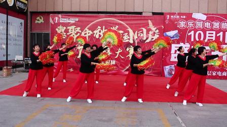 梧桐树舞蹈队。许恩洋拍摄