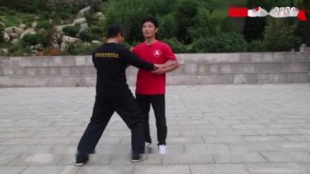 第三十四届大青山实用拳法讲座陈旭试劲20201002