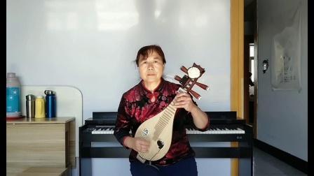 双节柳琴弹奏《银色的毡房》