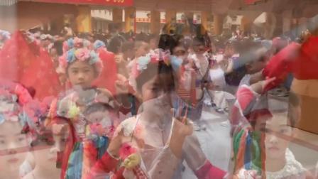 深圳文汇学校三四年级集体舞比赛获得第一名的舞蹈《美丽中国梦》