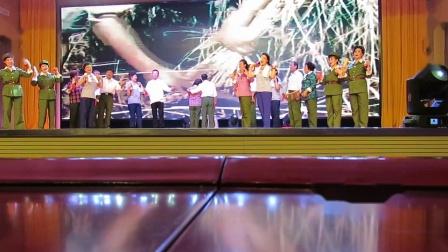 元宝区全民健身夕阳红盛世欢歌庆双节文体演出之知青大学快板《激情岁月》片段