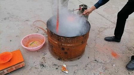 天津中医黑膏药制作工艺爱好者在诸城炼油下丹实录