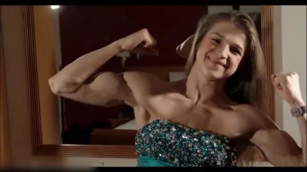 少女英才!16岁姑娘Emily两年健身成果展示!