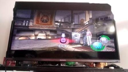 PS2生化危机4我方丧尸敌方里昂肯尼迪