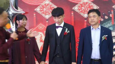 新郎李世磊新娘周娟娟婚礼庆典视频2020.10.5-6