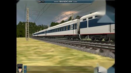 模拟火车拍车集锦3
