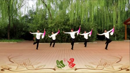 畅春园舞蹈队2020-4 大扇舞《梁祝》