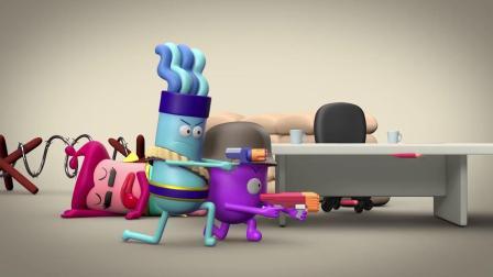 脑洞幽默动画,年底业绩下滑不可怕,可怕的是员工们差点被逼疯!