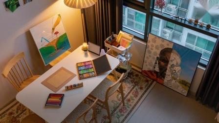 25平米独居公寓如何同时满足生活和办公?设计师独家讲解!