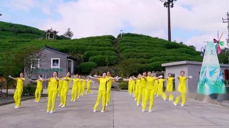 中国新时代第六套有氧健身操由台州辅导站演绎