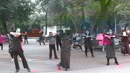 秦皇岛汤河公园广场舞9