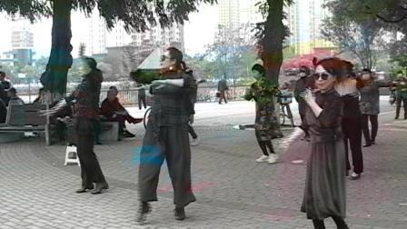 秦皇岛汤河公园广场舞13.avi