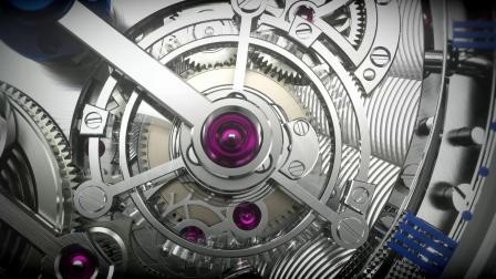 宝玑Classique经典系列5345双旋转陀飞轮钟表堤岸腕表