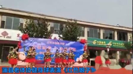 蒲县老体协健身球表演《红色娘子军》.avi