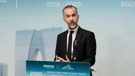 SKEMA Global EMBA to SAINT-GOBAIN  2018-2020 Graduation & 2020-2022 Launching