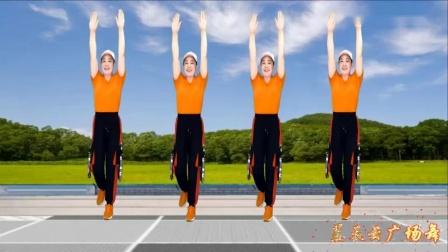 草原金曲《放歌走天涯》豪迈大气健身操,简单易学,一跳就喜欢_高清