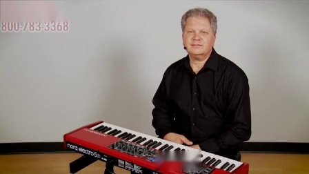 Kraft Music - Nord Electro 5D Keyboard Demo with Chris Martirano