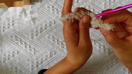 毛绒绒猫爪手套教程