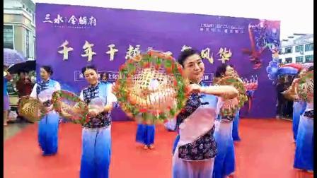 """《茶香中国》2020余干县广场舞文化协会""""三水金麟府""""杯一等奖"""