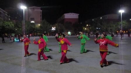 北镇方圆广场秧歌舞蹈队《成立晚会》《舞蹈-大姑娘美大姑娘浪》制作-东明2020.10.18