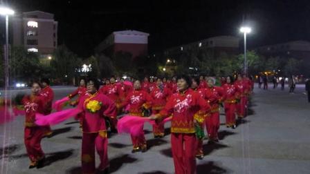 北镇方圆广场秧歌舞蹈队《成立晚会》《大秧歌》制作-东明2020.10.18