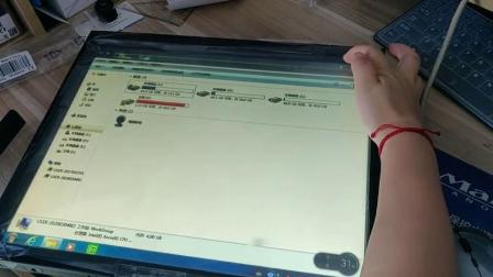 触摸屏维修后在显示屏上触控,怎么触摸还是没反应呢?