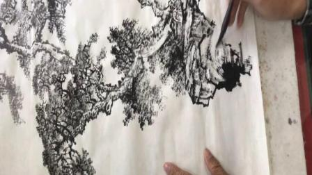 太钢老年大学朱宪章老师国画网课山水第2 课