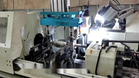 重载桁架机械手应用电机转子自动加工【EKTHINK】