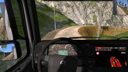【优酷小宝】 欧洲卡车模拟2 山路地图第2期(全程高能) 因麦克风出现问题暂时没有我本人的声音