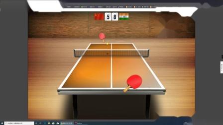 【哈比解说】4399小游戏——国际乒乓球大赛娱乐试玩视频