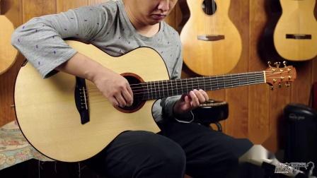 Maestro 美诗特私人收藏系列 raffles 瑞士云杉-荔枝木 手工吉他评测 沁音原声