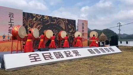 北京击鼓乐团:北京开幕式战鼓表演周年庆活动开场鼓