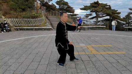 杨式40式太极拳黄山光明顶2020 演练