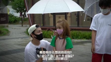 社会实验:外国小孩街头求助陌生人帮忙撑伞避雨[神迹字幕组]