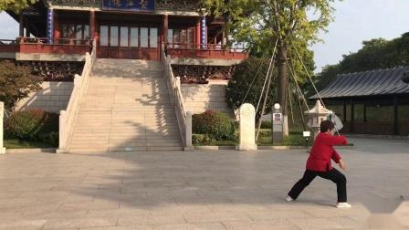 陈式太极拳第十二代传人孙莉演练传统陈式老架74式