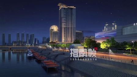 闽江大桥 照明设计 灯光动画